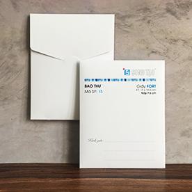 Bao thư - bao thư nhỏ - bao thư lớn - bao thư vuông - bao thư giá rẻ - phong bì - envelop