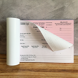Biểu mẫu, in biểu mẫu, biểu mẫu giấy carbonless, In phiếu xuất kho, phiếu xuất nhập khẩu
