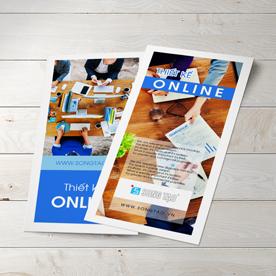 Tờ rơi - tờ gấp - in giá rẻ - leaflet - brochure - in tờ rơi - in giấy c300