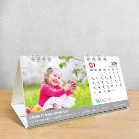 Lịch - lịch để bàn - mẫu lịch đẹp - in lịch tại hcm - lịch bàn chữ a - Lịch bàn đẹp - Lịch bàn 2019
