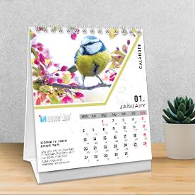 Lịch - lịch để bàn - Lịch treo tường - calendar - lịch bàn chữ a - Lịch bàn đẹp - Lịch bàn 2019