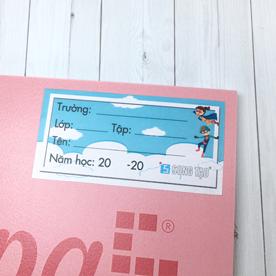 Nhãn - nhãn Decal - sticker - nhãn dán - decal dán - in nhãn - in sticker - nhãn vở - nhãn dán vở - nhãn tên