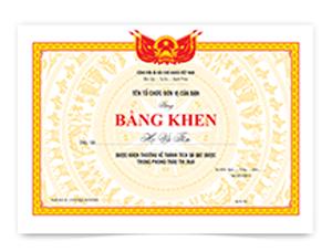 in ấn Bằng Khen (124) giá rẻ