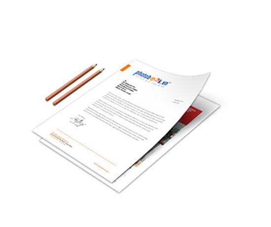 giấy tiêu đề - công ty in giấy tiêu đề