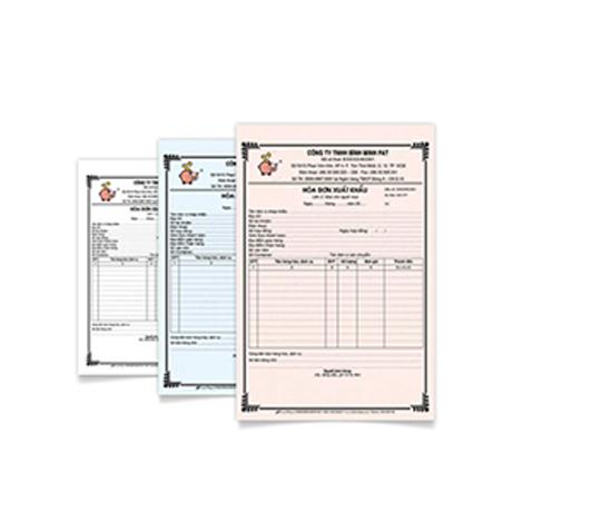 hóa đơn - công ty in hóa đơn