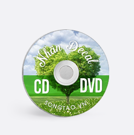 Nhãn - CD - Nhãn CD - DVD - in nhãn CD - in nhãn - đĩa CD - đĩa DVD