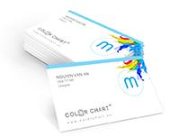 Danh thiếp - namecard - card - card visit - không cán màng
